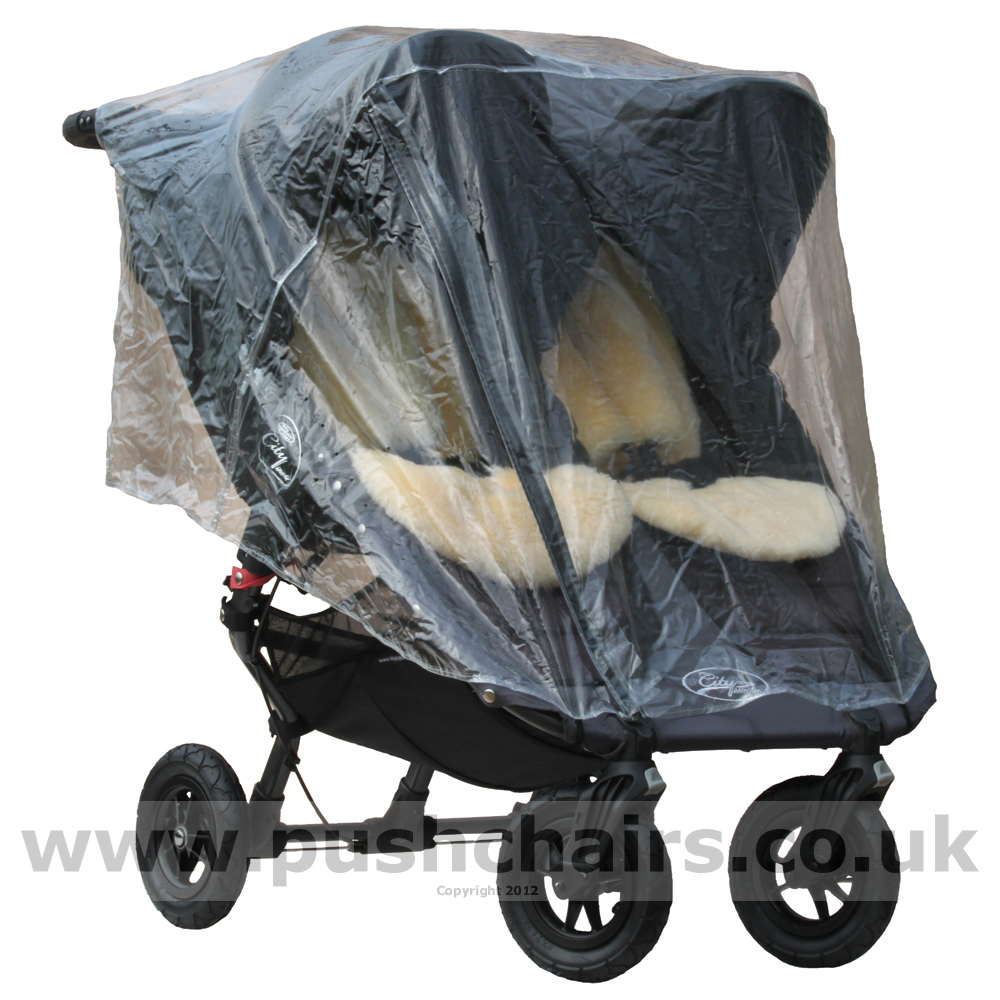 Orchard Farm Ltd Baby Jogger Double City Mini Gt Rain Cover