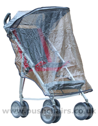 FREE UK POSTAGE Special needs buggy FRAMED RAIN COVER CAN USE WITHOUT HOOD