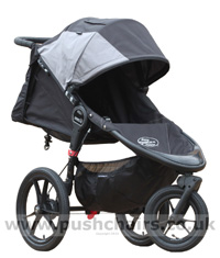 Baby Jogger Summit X3 Black/Grey (inc. Rain Cover)