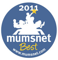 Mumsnet Mums Best of 2011 Award - click for details