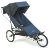 Baby Jogger Freedom with single fixed front wheel fitted - click for larger image