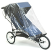Baby Jogger Freedom with rain cover fitted - click for larger image