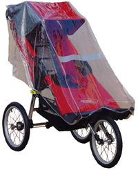 Baby Jogger Independence with Rain Cover - click for larger image
