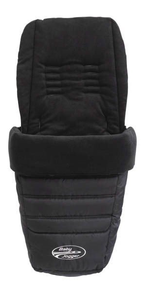 Baby Jogger Footmuff Black (small)