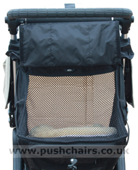 Baby Jogger City Elite Recline Seat Rear Mesh - click for larger image
