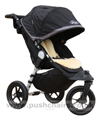 Baby Jogger City Elite Black with Lambskin Stroller Fleece - click for larger image
