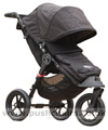 Baby Jogger City Elite Black with Baby Jogger Footmuff Black - click for larger image