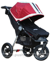 Baby Jogger City Elite Red Sport with Black Footmuff - click for larger image