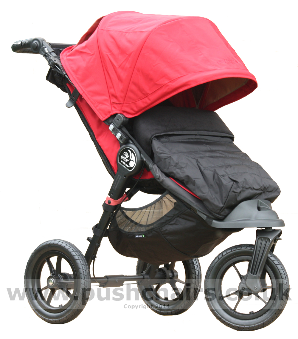 baby jogger city elite red inc rain cover footmuff. Black Bedroom Furniture Sets. Home Design Ideas