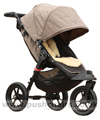Baby Jogger City Elite Sand with Lambskin Stroller Fleece - click for larger image