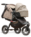 Baby Jogger City Elite Sand with Compact Carrycot Sand - click for larger image