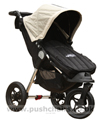 Baby Jogger City Elite Stone with Black Footmuff - click for larger image