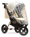 Baby Jogger City Elite Stone with Rain Cover - click for larger image