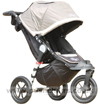 Baby Jogger City Elite Stone with seat upright - click for larger image