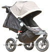 Baby Jogger City Elite Stone with seat reclined - click for larger image