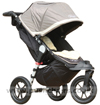 Baby Jogger City Elite Stone with Lambskin Stroller Fleece - click for larger image