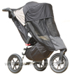 Baby Jogger City Elite Stone with Shade-a-Babe UV Sun Protection - click for larger image