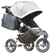 Baby Jogger City Elite Stone Baby Jogger Diaper Changing Bag fitted - click for larger image