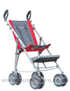 Maclaren Major Elite special needs pushchair with adjustable footplate in highest position- click for larger image