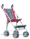 Maclaren Major Elite special needs pushchair with adjustable footplate in middle position- click for larger image