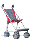 Maclaren Major Elite special needs pushchair with adjustable footplate in lowest position- click for larger image
