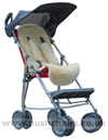 Maclaren Major Elite special needs pushchair with Sun Hood & Lambskin Comfort Liner - click for larger image