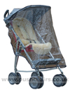 Maclaren Major Elite special needs pushchair with Sunhood & Rain Cover plus Lambskin Comfort Liner - click for larger image
