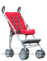 Maclaren Major Elite special needs pushchair with Reversible Seat Liner - click for larger image