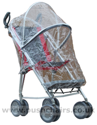 Maclaren Major Elite special needs pushchair with & Storm Cover - click for larger image