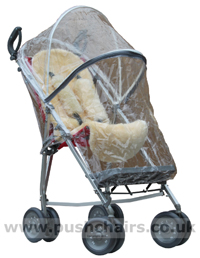 Maclaren Major Elite special needs pushchair with Lambskin Comfort Liner & Storm Cover - click for larger image