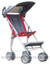 Maclaren Major Elite special needs pushchair with Sun Hood - click for larger image