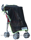 Maclaren Major Elite special needs pushchair with Sun Hood & Buggy Sunshade/Privacy Net - click for larger image