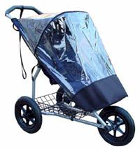 Rain Cover for single Mountain Buggy - click for larger image