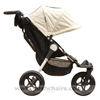 Baby Jogger City Elite Stone side on - click for larger image