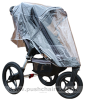 Baby Jogger Summit ATP with Rain Cover- click for larger image