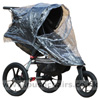 Baby Jogger City Summit, with Rain Cover showing zippered opening - click for larger image