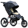 Baby Jogger Summit XC with with Lambskin Stroller Fleece - click for larger image