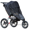 Baby Jogger Summit XC with Lambskin Stroller Fleece & Shade-a-Babe UV SunShade - click for larger image