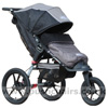 Baby Jogger Summit XC with Baby Jogger Footmuff Stone - click for larger image