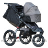 Baby Jogger Summit XC with Compact Carrycot Sand - click for larger image