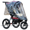 Baby Jogger Summit XC with Rain Cover & Lambskin Stroller Fleece - click for larger image