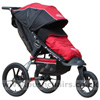 Baby Jogger Summit XC with Baby Jogger Footmuff Crimson - click for larger image