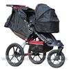 Baby Jogger Summit XC with Compact Carrycot Black - click for larger image