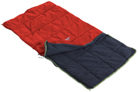 Nomad Kids Sleeping Bag/Mattress Cover Poppy Red - click for larger image