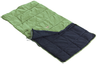 Nomad Kids Sleeping Bag/Mattress Cover Moss - click for larger image